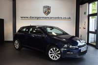 USED 2013 62 VOLKSWAGEN SCIROCCO 2.0 TDI BLUEMOTION TECHNOLOGY 2DR 140 BHP + FULL SERVICE HISTORY + 1 OWNER FROM NEW + SATELLITE NAVIGATION + BLUETOOTH + SPORT SEATS + AUXILIARY PORT + HEATED MIRRORS + 18 INCH ALLOY WHEELS +