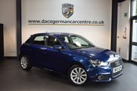 USED 2013 13 AUDI A1 1.6 SPORTBACK TDI SPORT 5DR 103 BHP + HALF BLACK LEATHER INTERIOR + FULL SERVICE HISTORY + 1 OWNER FROM NEW + BLUETOOTH + SPORT SEATS + AUXILIARY PORT + HEATED MIRRORS + 16 INCH ALLOY WHEELS +
