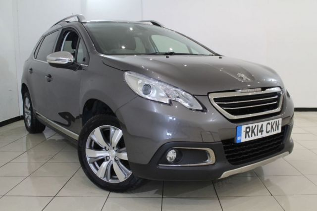 View our 2014 14 PEUGEOT 2008 1.2 ALLURE 5DR AUTOMATIC 82 BHP