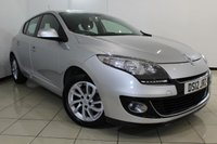 USED 2012 12 RENAULT MEGANE 1.5 DYNAMIQUE TOMTOM ENERGY DCI S/S 5DR 110 BHP SERVICE HISTORY + SAT NAVIGATION + AIR CONDITIONING + BLUETOOTH + CRUISE CONTROL + RADIO/CD + 16 INCH ALLOY WHEELS