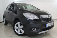 USED 2014 14 VAUXHALL MOKKA 1.7 EXCLUSIV CDTI S/S 5DR 128 BHP FULL VAUXHALL SERVICE HISTORY + CLIMATE CONTROL + PARKING SENSOR + BLUETOOTH + CRUISE CONTROL + 18 INCH ALLOY WHEELS