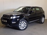 USED 2014 14 LAND ROVER RANGE ROVER EVOQUE 2.2 SD4 PURE 5d 190 BHP 4WD LEATHER CRUISE ONE OWNER FSH 4WD. STUNNING BLACK MET WITH FULL BLACK LEATHER TRIM. HEATED SEATS. CRUISE CONTROL. 18 INCH ALLOYS. COLOUR CODED TRIMS. PARKING SENSORS. BLUETOOTH PREP. AIR CON. MULTIMEDIA SYSTEM. R/CD/DAB RADIO. 6 SPEED MANUAL. MFSW. MOT 04/18. ONE OWNER FROM NEW. SERVICE HISTORY. FCA FINANCE APPROVED DEALER. TEL 01937 849492