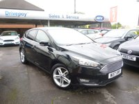 USED 2017 17 FORD FOCUS 1.0 ZETEC EDITION 5d 124 BHP NEED FINANCE? WE STRIVE FOR 94% ACCEPTANCE