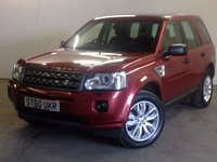 USED 2010 60 LAND ROVER FREELANDER 2 2.2 TD4 HSE 5d 150 BHP FACELIFT SAT NAV PAN ROOF LEATHER ONE OWNER FACELIFT MODEL 4WD. SATELLITE NAVIGATION. PANORAMIC SUNROOF. STUNNING RED MET WITH FULL BLACK LEATHER TRIM. ELECTRIC MEMORY HEATED SEATS. CRUISE CONTROL. 18 INCH ALLOYS. COLOUR CODED TRIMS. PARKING SENSORS. BLUETOOTH PREP. CLIMATE CONTROL. TRIP COMPUTER. 6 SPEED MANUAL. R/CD/MP3 PLAYER. MFSW. MOT 08/18. ONE OWNER FROM NEW. SERVICE HISTORY. FCA FINANCE APPROVED DEALER. TEL 01937 849492.