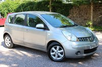 USED 2008 58 NISSAN NOTE 1.6 ACENTA S 5d AUTO 109 BHP