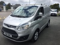 2014 FORD TRANSIT CUSTOM  270 LIMITED 2.2TDCi 125 SWB 6-Speed £SOLD
