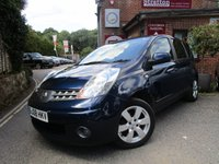 USED 2008 08 NISSAN NOTE 1.6 TEKNA 5d AUTO 109 BHP