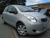 USED 2007 57 TOYOTA YARIS 1.0 T2 VVT-I 3d 69 BHP ONLY 2 FORMER KEEPER+NEW MOT