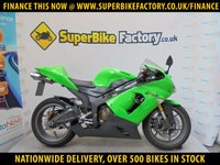 USED 2006 06 KAWASAKI ZX-6R  GOOD & BAD CREDIT EXCEPTED, OVER 500+ BIKES