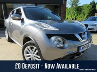 "USED 2014 14 NISSAN JUKE 1.5 ACENTA PREMIUM DCI 5d 110 BHP ONE OWNER SAT NAV, REVERSE CAMERA, 17"" ALLOYS, CRUISE CONTROL, FULL SERVICE HISTORY, SPARE KEY"