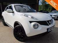 "USED 2014 14 NISSAN JUKE 1.5 TEKNA DCI 5d 110 BHP ONE OWNER, LEATHER, HEATED SEATS, SAT NAV, 17"" ALLOYS, CLIMATE CONTROL, FULL MAIN DEALER SERVICE HISTORY"
