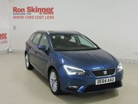 USED 2014 64 SEAT LEON 1.6 TDI SE TECHNOLOGY 5d 105 BHP