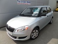 2011 SKODA FABIA 1.2 S 6V 5d 60 BHP ONLY 40000 MILES WITH FSH AIR CON £4995.00