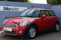 2012 MINI HATCH COOPER 1.6  3d 122 BHP £7495.00