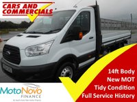 USED 2014 64 FORD TRANSIT DROPSIDE 350 LWB L4 125ps [1-Stop]
