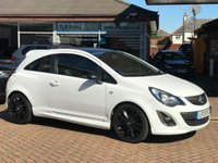 USED 2013 13 VAUXHALL CORSA 1.2 LIMITED EDITION 3d 83 BHP Free MOT for Life