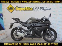 USED 2015 15 YAMAHA YZF-R125  GOOD & BAD CREDIT EXCEPTED, OVER 500+ BIKES