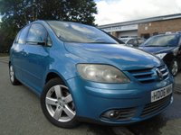 2006 VOLKSWAGEN GOLF PLUS 2.0 GT TDI 5d 138 BHP £1695.00