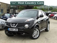 USED 2010 60 NISSAN JUKE 1.6 ACENTA PREMIUM 5d 117 BHP High Spec Including Satellite Navigation