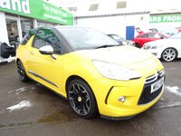 USED 2012 12 CITROEN DS3 1.6 E-HDI AIRDREAM DSPORT PLUS 3d 111 BHP JUST ARRIVED FULL BLACK LEATHER