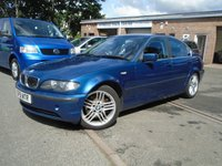USED 2003 R BMW 3 SERIES 2.9 330D 4d 181 BHP LEATHER+NEW MOT+DIESEL