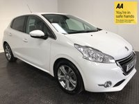 USED 2014 14 PEUGEOT 208 1.2 ALLURE 5d 82 BHP FSH-1 OWNER-LOW MILEAGE-BLUETOOTH