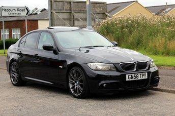2008 BMW 3 SERIES 3.0 330D M SPORT 4d AUTO 241 BHP £10990.00