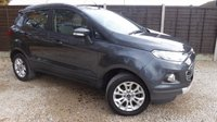 USED 2014 64 FORD ECOSPORT 1.5 TITANIUM 5dr Keyless Entry & Bluetooth