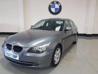 USED 2007 07 BMW 5 SERIES 2.0 520D SE 4d 161 BHP Heated Black Leather/Bluetooth/Cruise/Park Assist