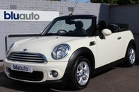 2013 MINI CONVERTIBLE ONE 1.6  £8930.00