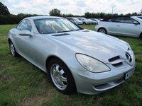 2006 MERCEDES-BENZ SLK 1.8 SLK200 KOMPRESSOR 2d AUTO 161 BHP £7495.00