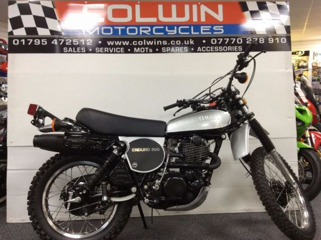 View our YAMAHA XT500