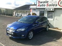 USED 2014 64 FORD FOCUS 1.0 TITANIUM NAVIGATOR 124 BHP £40 PER WEEK, NO DEPOSIT - SEE FINANCE LINK BELOW