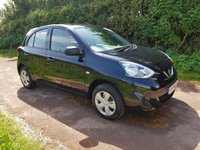 USED 2014 64 NISSAN MICRA 1.2 VISIA 5d 79 BHP **£30 ROAD FUND**1 OWNER**LOW MILEAGE**