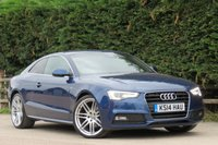 USED 2014 14 AUDI A5 2.0 TDI S LINE S/S 2d AUTO 177 BHP AA DEALER PROMISE, DRIVE AWAY TODAY
