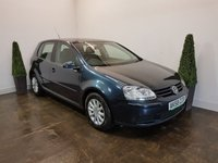 USED 2008 58 VOLKSWAGEN GOLF 1.9 MATCH TDI 5d 103 BHP SERVICE HISTORY WITH 6 STAMPS IN THE SERVICE BOOK