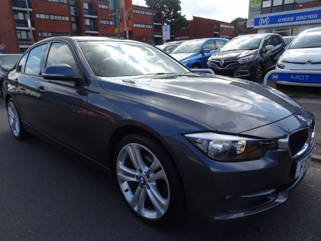 2012 12 BMW 3 SERIES 2.0 320D SPORT 4d 184 BHP  MINERAL GREY/GREY LEATHER