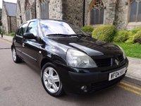 2004 RENAULT CLIO 1.6 DYNAMIQUE 16V 5d 110 BHP £1000.00
