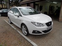 USED 2012 12 SEAT IBIZA 1.6 CR TDI SPORTRIDER 5d 103 BHP FULL SERVICE HISTORY, CRUISE CONTROL, 2 KEYS, £20 A YEAR ROAD TAX