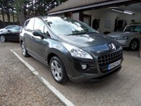 USED 2012 62 PEUGEOT 3008 1.6 ACTIVE E-HDI FAP 5d AUTO 112 BHP FULL SERVICE HISTORY, £30 ROAD TAX, 2 KEYS, CRUISE CONTROL