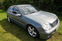 USED 2005 54 MERCEDES-BENZ C CLASS 2.1 C220 CDI AVANTGARDE SE 4d AUTO 148 BHP,HEATED LEATHER,CRUISE,SERVICE HISTORY