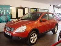 USED 2008 58 NISSAN QASHQAI 2.0 ACENTA 5d AUTO 140 BHP Two owners, Full Nissan service history. Supplied with a service and 12 months Mot. High seated automatic driving position.