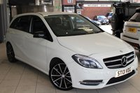 USED 2013 13 MERCEDES-BENZ B CLASS 1.8 B180 CDI BLUEEFFICIENCY SPORT 5d 109 BHP BLACK LEATHER SEATS + REAR VIEW CAMERA + NIGHT PACKAGE + ACTIVE PARK ASSIST + 18 INCH ALLOYS + BI-XENON HEADLIGHTS + RAIN SENSORS