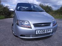 2008 CHEVROLET KALOS 1.2 SE 5d 72 BHP ** 1 OWNER FROM NEW , ONLY 40,525 MILES ** £1495.00