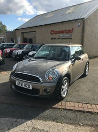 2011 MINI HATCH ONE 1.6 ONE 3d 98 BHP £5795.00