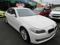 USED 2012 12 BMW 5 SERIES 2.0 520D SE 4d AUTO 181 BHP JUST ARRIVED TEST DRIVE TODAY