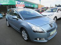 USED 2012 62 PEUGEOT 5008 1.6 HDI ACTIVE 5d 115 BHP TEST DRIVE TODAY