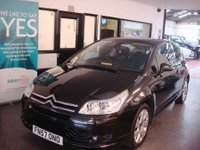 USED 2007 57 CITROEN C4 2.0 VTS HDI 3d 135 BHP Three owners, service history, May 2018 advisory free Mot. Huge specification.