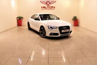 USED 2014 14 AUDI A5 2.0 TDI S LINE BLACK EDITION 2d 177 BHP + 2 PREV OWNER FROM NEW + SERVICE HISTORY
