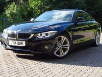 USED 2014 14 BMW 4 SERIES 2.0 420D SPORT 2d AUTO 181 BHP
